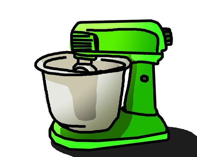 zelený mixer