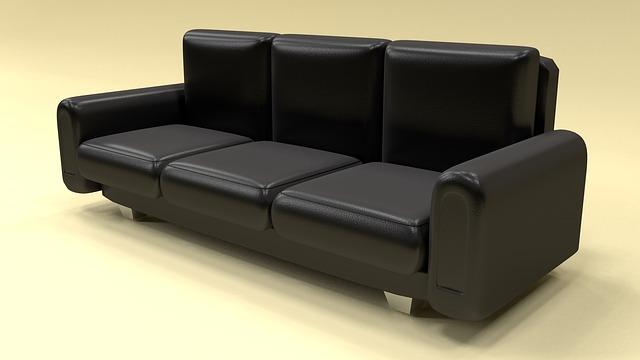 moderní nepohodlná kožená sedací souprava