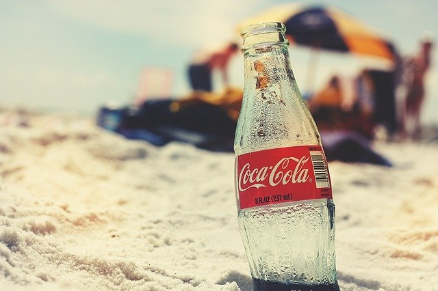 Coca cola láhev